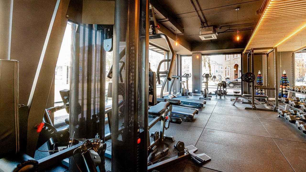 Live & Be fitnessruimte