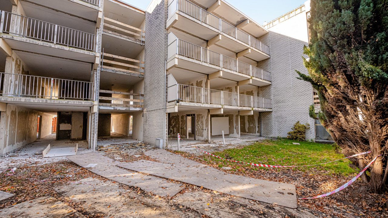 Glosec verbouwt gebouw naar verzorgingshuizen in Heerlen