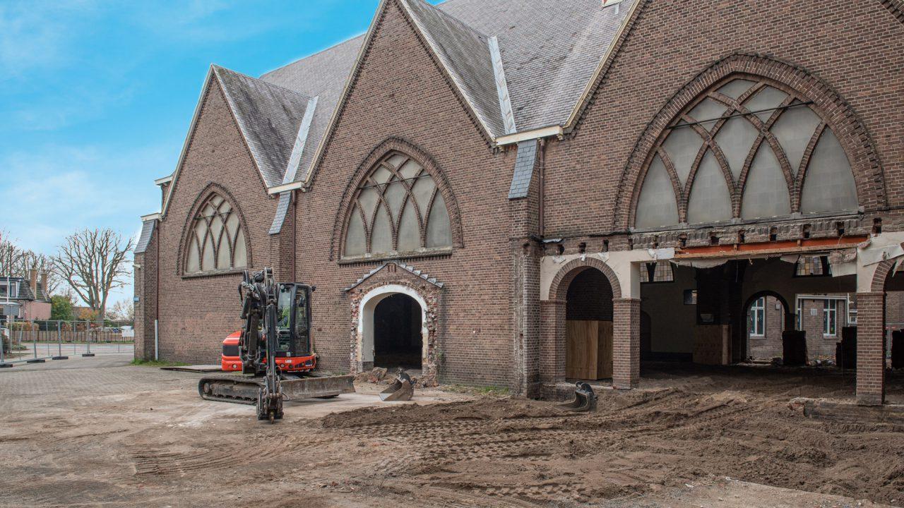 Glosec verbouwt Sint Jozefkerk in Hillegom