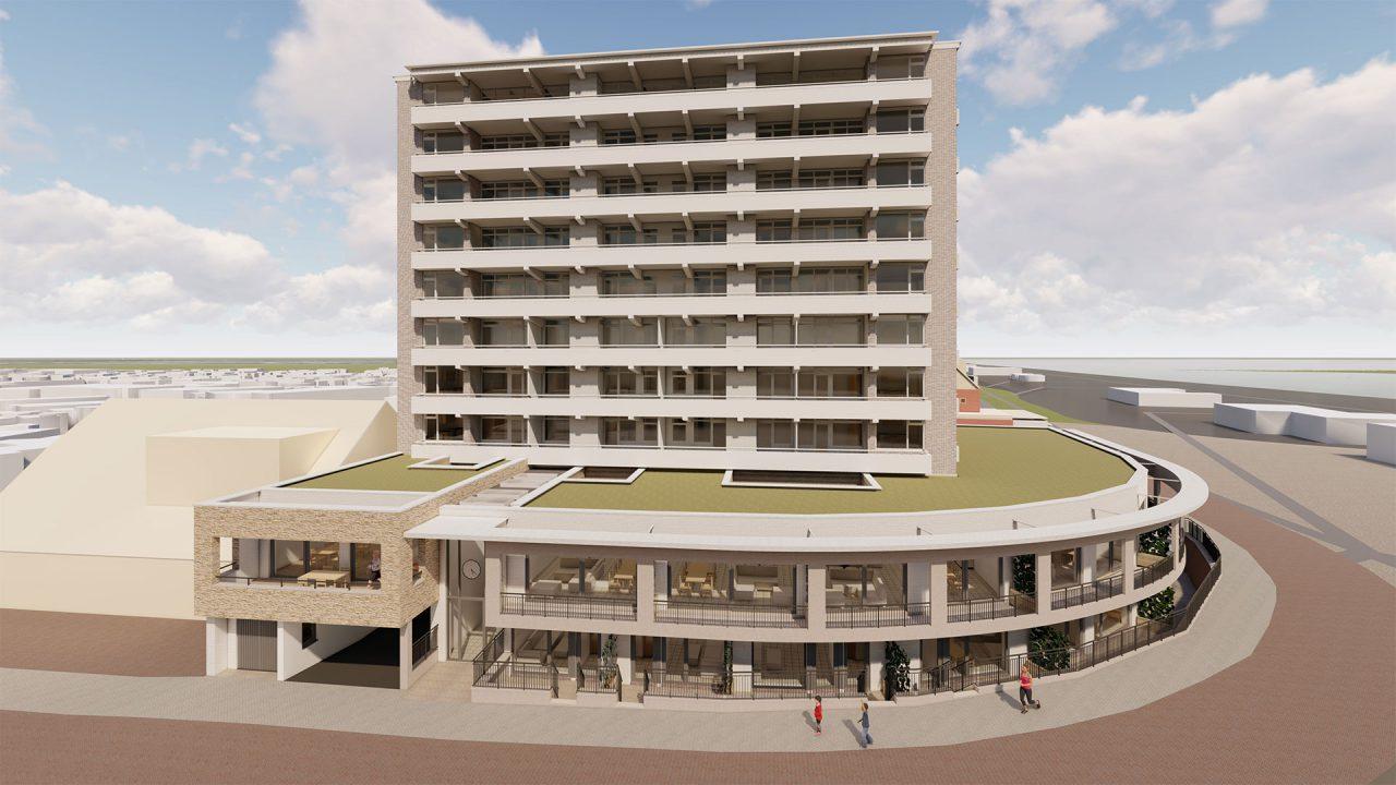 Impressie appartementen Zandvoort