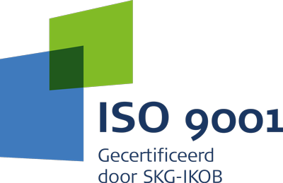 ISO 9001 - Gecertificeerd door SKG-IKOB