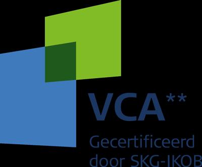 VCA** - Gecertificeerd door SKG-IKOB